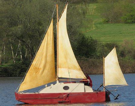 Plywood sailboats plans, pocket cruisers sailboat plan, plywood