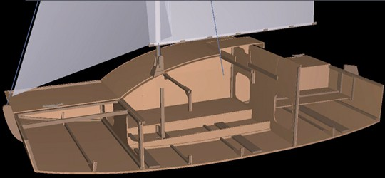 Plywood sailboats plans, pocket cruisers sailboat plan