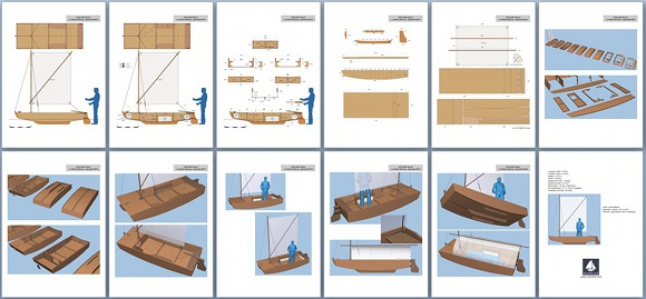 Plywood sailboats plans, pocket cruisers sailboat plan ...